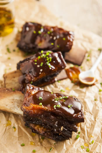 Sticky Toffee BBQ Pork