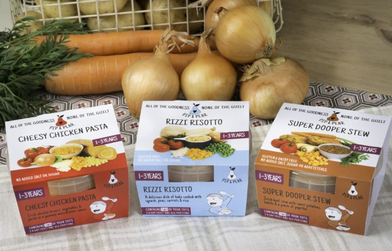 Children's food manufacturer pip and pear culinary food group