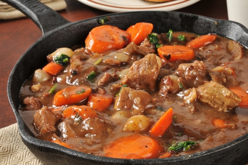 beef stew food ingredients