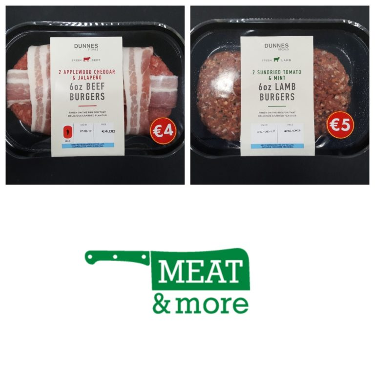 dunnes stores meat and more burgers ready to cook meals