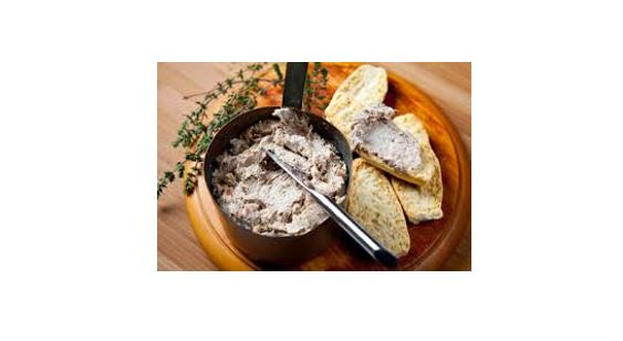 duck rillettes christmas starter