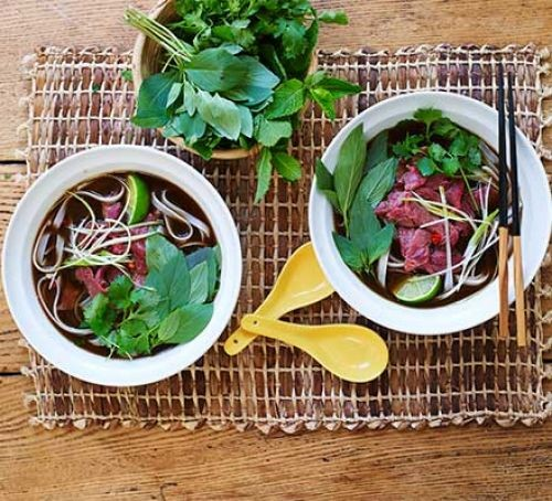 Recipe of the Month Beef Pho