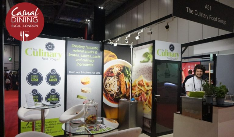 The Culinary Food Group team had a very busy two days at the Casual Dining Show at ExCel, London on 27th and 28th February