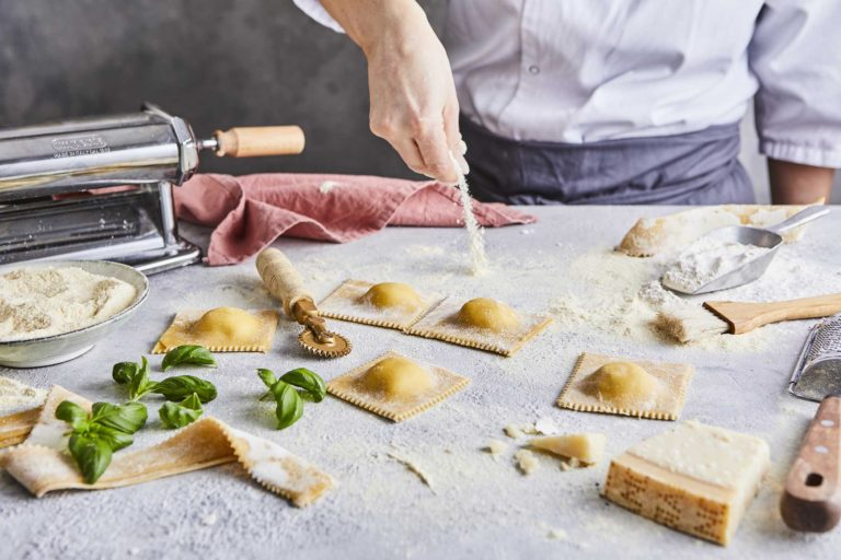 Simply Pasta: Chef Making Pasta