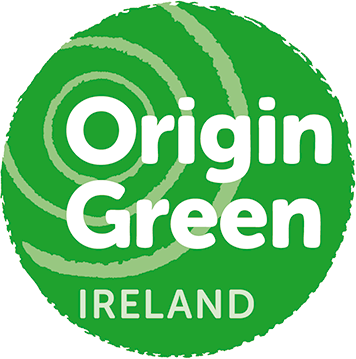 Origin Green Ireland logo