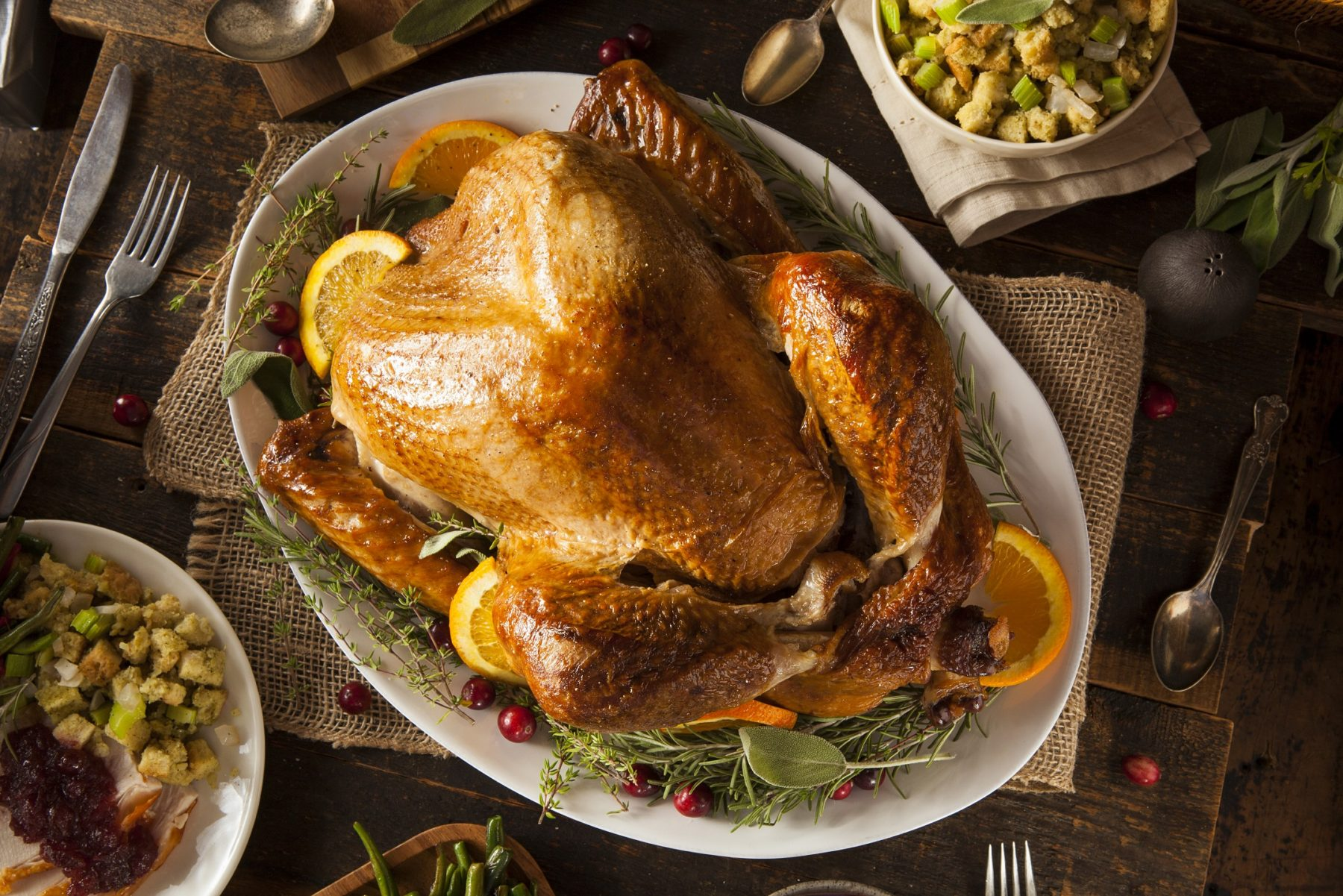 Whole Homemade Turkey